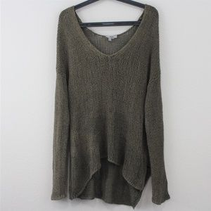 Helmut Lang Looped Asymmetrical Pullover M272